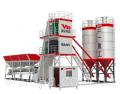 Бетоносмесительная установка производительность 60 м3/ч, емкость 1000л