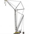 Гусеничный кран SCC4000E