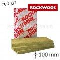 Минеральная вата ROCKMIN (Рокмин) 100*600*1000, уп. 6,0 кв.м