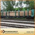 Вагон-платформа для леса модель 23-469, Днепровагонмаш
