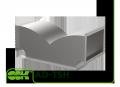 Трійник AD-TSH асиметричний штанообразний для прямокутного повітроводу