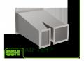 Трійник AD-TSHP асиметричний штанообразний зі змінним перетином для прямокутного повітроводу