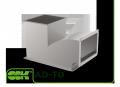 Тройник AD-TD с дугообразным отводом для прямоугольного воздуховода