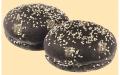 Булочка для гамбургеров черная 0,06 кг Замороженные Полуфабрикаты