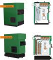 Твердотопливный котел 30 -500 кВт