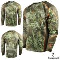 Футболка для охоты и рыбалки Browning Hell's Canyon Lightweight Base Layer Shirt Realtree MAX-1