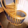 Лестницы деревянные дуговые