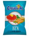 Сухарики пшеничные со вкусом красной икры ТМ «Сухарьок»