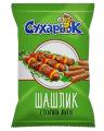 Сухарики ржаные со вкусом шашлыка «Сухарьок»