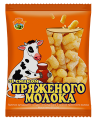 Sticks of corn flavored with milk TM «Gifts of Dickanka""