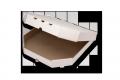 Коробки для пиццы (микрогофрокартон с белым оборотом)250х250х35