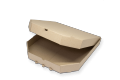 Коробки для пиццы (микрогофрокартон с бурым оборотом) 350х350х35