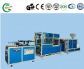 Automatic devices for manufacturing disposable utensils