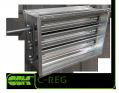 C-REG-60-35-HD клапан канальный вентиляционный с ручным приводом