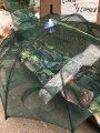 Раколовка (рачевница) зонт автоматическая,8 входов
