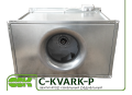 C-KVARK-P-60-35-28-2-220 вентилятор канальный прямоугольный с однофазным электродвигателем