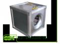 KP-KVARK-N-50-50-9-3.55-4-380 вентилятор канальний радіальний квадратний каркасно-панельний