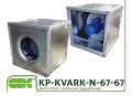 KP-KVARK-N-67-67-9-5-4-380 fan frame-channel panel