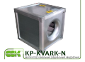KP-KVARK-N-80-80-6-6,3-4-380 вентилятор с ЕС-двигателем канальный
