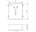 Wardrobe outdoor lighting control