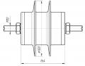Ограничитель перенапряжения ОПН 3 кВ ,  для сетей переменного тока