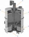 Оборудование для производства сахара. Вакуум-аппарат ВА2-В-60