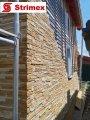 """Навесной Вентилируемый Фасад """"StrimROCK"""" на алюминиевой подсистеме с декоративным камнем Каскад Рейндж"""