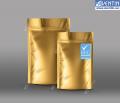 Дой-пак золото 140x250 (40+40) с НДС, 100 шт./в упаковке