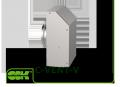 Вентилятор C-VENT-V-125-4-220 для круглых каналов для настенного монтажа
