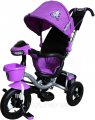 Bелосипед трехколесный Mini Trike надувные колеса (фиолетовый). Вес 11,3 кг (52х94х110 см)