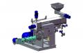 Экструдер с пропариватилем ЕМ-1250-УП (Зерно, соя и др)