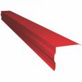 Торцевая ветровая планка RAL3005 (красный)