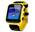 Оригинальные детские смарт часы с GPS WONLEX GW500s (G51, Y21, Q528) цвет желтый