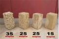 Камень ракушка, марки 35, 25, 15, Херсонская область