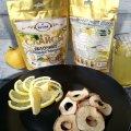 Сушеные яблоки «Слайсы яблочные сушеные с лимоном» 50 г