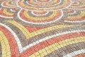 Тротуарная плитка «Австрийский камень» Ярко-красный