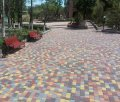 Тротуарная плитка «Старый город» 4 см Синий