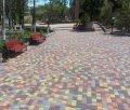 Тротуарная плитка «Старый город» 4 см Коричневый