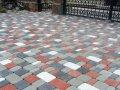Тротуарная плитка «Старый город» 6 см Красный