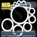 Прокладки фторопласта для фланцев а-150-16-ф гост 15180-86 (вырезка прокладок по размерам заказчика за 1 час)