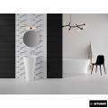 Плитка керамическая настенная WHITE SATIN 20X60  (Коллекция INDIRA )