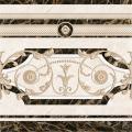 Плитка керамическая  Декор напольная бежевая FENIX 43х43 (коллекция)