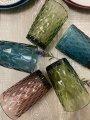 Набор разноцветных стаканов Изумрудный кедр (6 шт., 3 цвета)