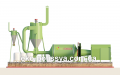 Drying drum type AVM 0.65 to Stipa, wood chips, sand, agricultural othovov