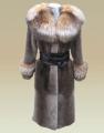 Меховое пальто (стриженный бобер) в Украине, Купить, Цена, Фото