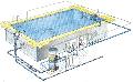 Хорошей и экономичной установкой водоснабжения и фильтрации бассейна будет скимерная система, принцип работы которой...