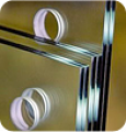 Drilling of openings of the Opening in glass are necessary for application of fixing accessories