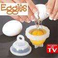 Формы для варки яиц без скорлупы Eggies - 6 штук в комплекте