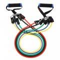 Набор эспандеров для упражнений №А62, эспандер резиновый