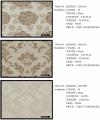 Ткани интерьерные R9034A, R9035A, R9035B Color 1 под заказ из Китая. Ткани мебельно-декоративные
